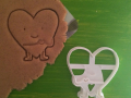 Heart with hands Cookie Cutter