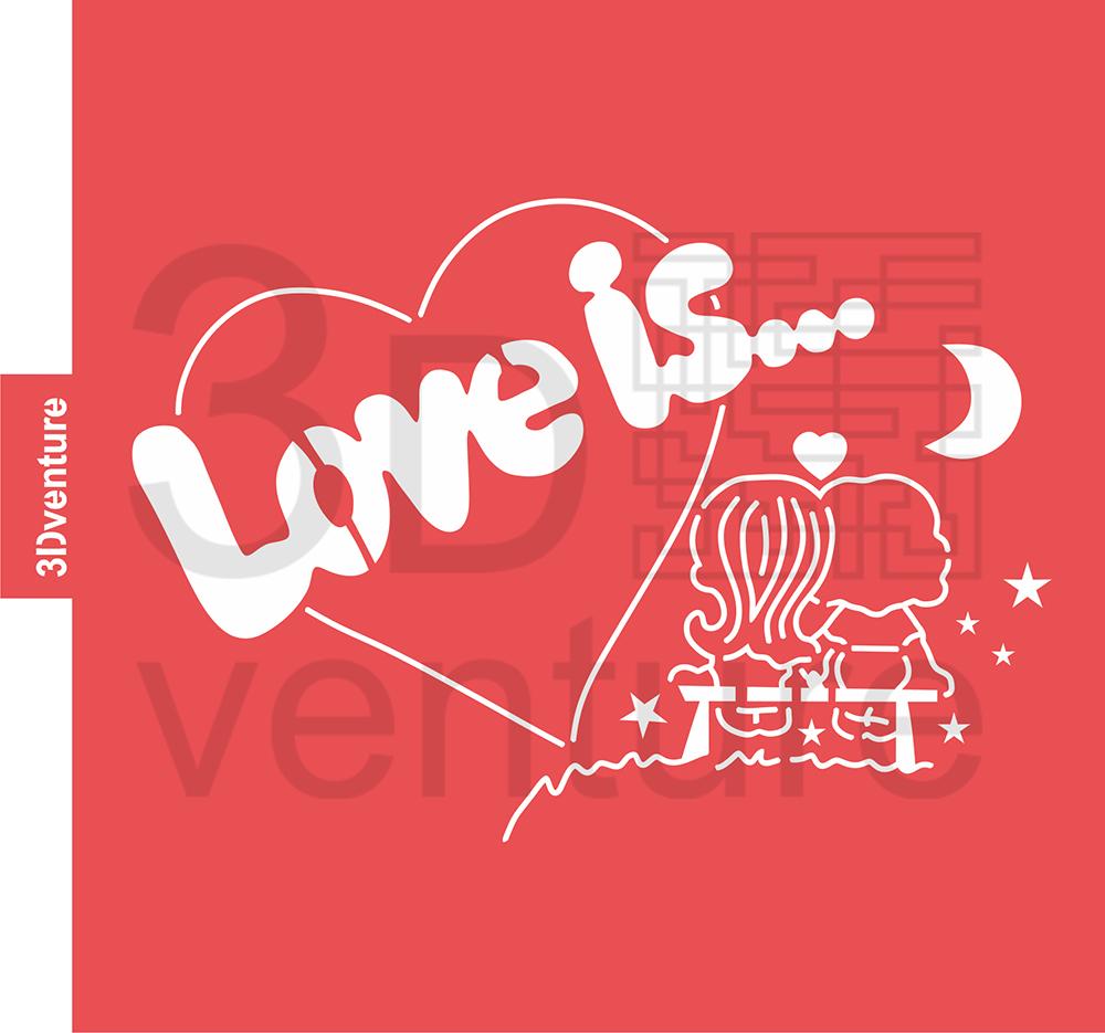 love is stencil