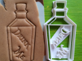 Bottle Drink me Cookie Cutter