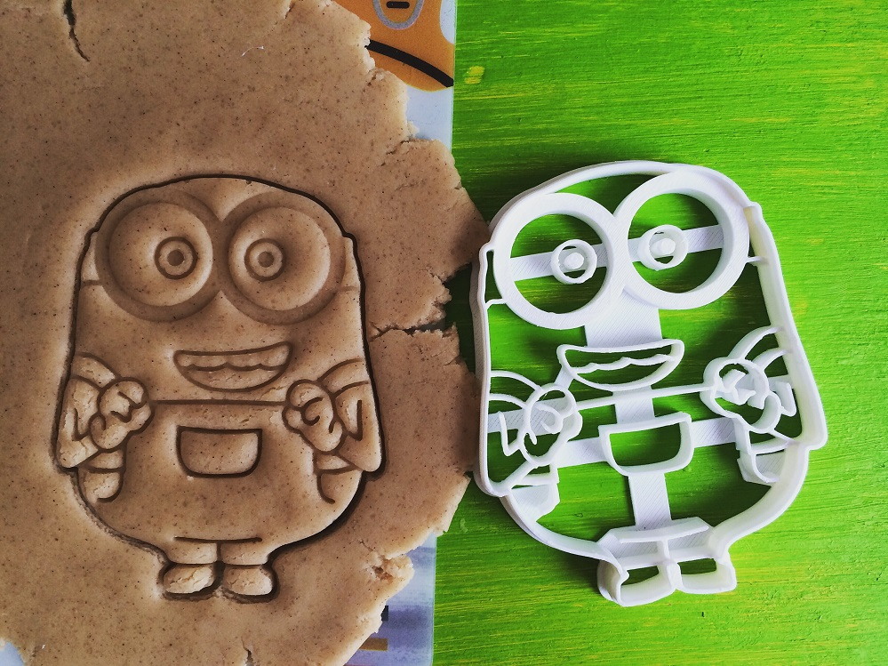 Fat Minion Cookie Cutter