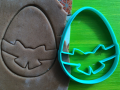 Egg with a bow Cookie Cutter