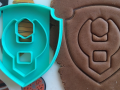 Paw patrol Fortress Rabl Cookie Cutter