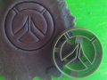 Overwatch logo Cookie Cutter