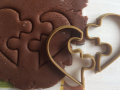Puzzle Heart Cookie Cutter