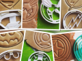 Signs of Super-Heroes set Cookie Cutter