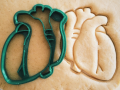 Organ Heart Cookie Cutter