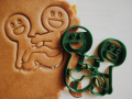 Gingerbread Kamasutra 2 Cookie Cutter