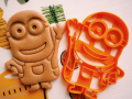 Joyful Minion Cookie Cutter