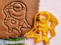 Minion Stewart Cookie Cutter