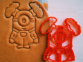 Minion girl 2 Cookie Cutter