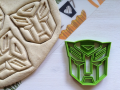 Transformer Autobot Cookie Cutter