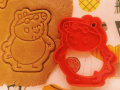Peppa pig- Daddy Pig Cookie Cutter