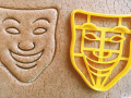 Cheerful Mask Cookie Cutter