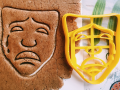 Sad mask Cookie Cutter