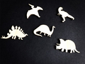 Set of dinosaurs Wooden Billet