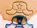 Shapka Ushanka Cookie cutter