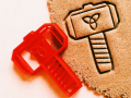 Thor Mallet Cookie Cutter