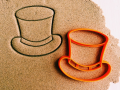 Tall Hat Cookie Cutter